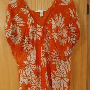 Diane von Furstenberg Silk blouse sz 6